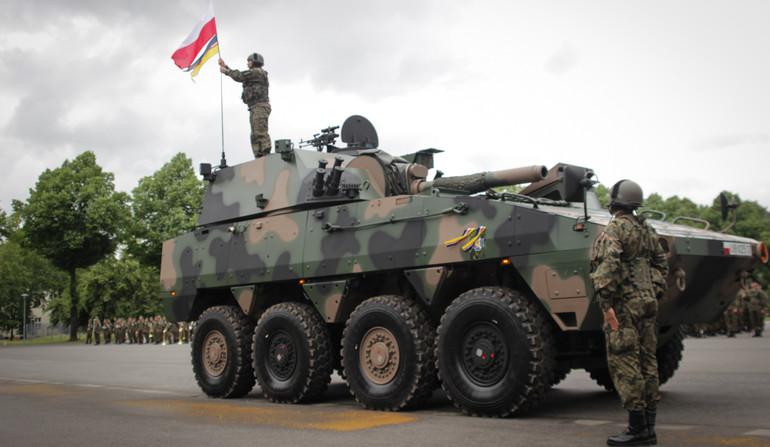 Самоходные минометы Rak поступают на вооружение польской армии