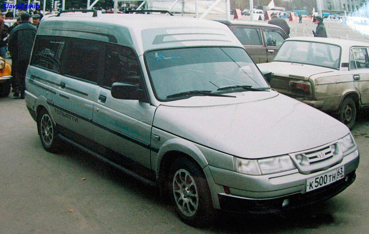 Странный универсал, созданный на базе ВАЗ-2110, удалось продать за 700 000 рублей