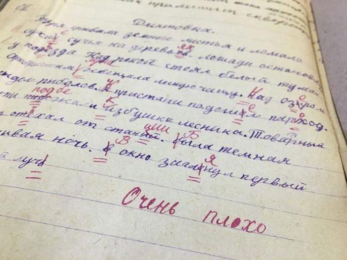 Портфель ленинградского школ…