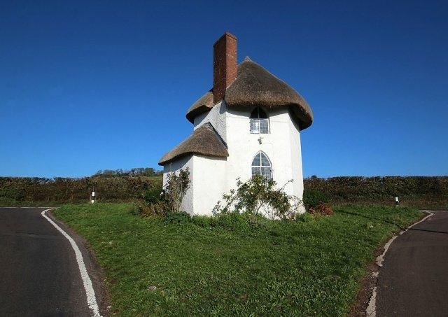 Миниатюрный особняк 18 века в Великобритании