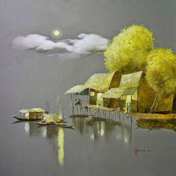художник Dang Van Can - 09