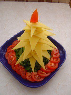 Украшаем новогодние блюда! (фото)