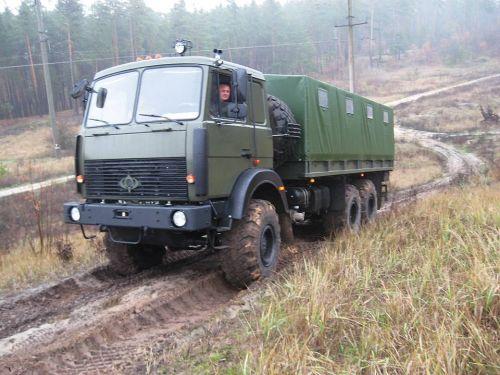 Новый грузовой автомобиль «Богдан (МАЗ) 63172» для вооруженных сил Украины