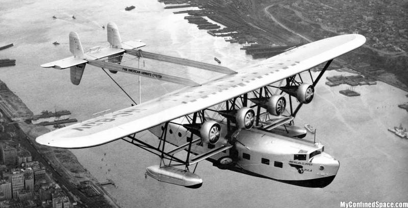 Летающая лодка Sikorsky S-40