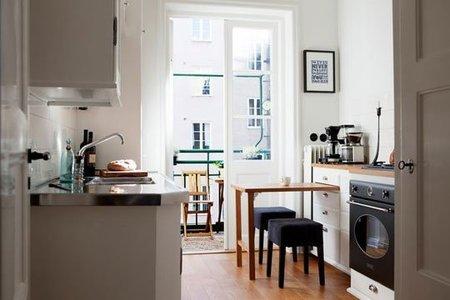 3 простых гениальных решения для очень маленькой кухни