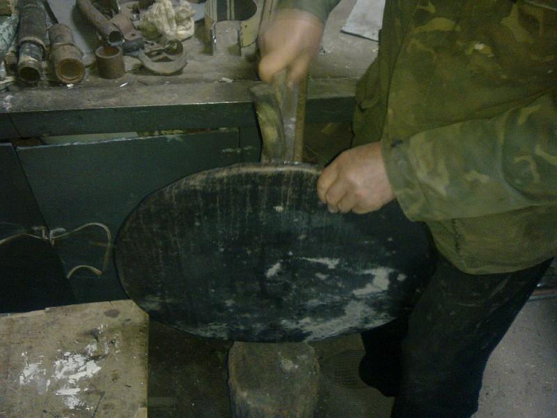 Фото 12 Изготовление металлической крышки для тандыра