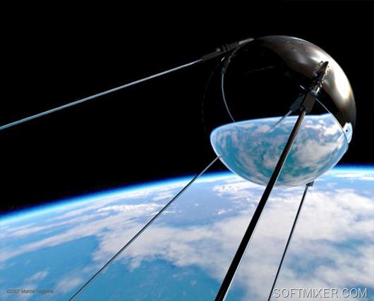 4 Октября 1957 года.  60 Лет тому назад началась космическая эра.