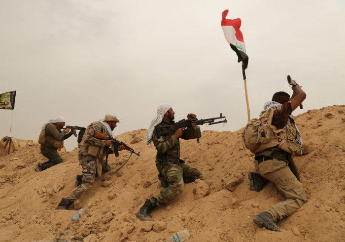 Хладнокровный иракец: боец отбивает атаку превосходящих сил ИГИЛ