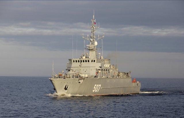 Корабль «Иван Антонов» пополнит минно-тральные силы ВМФ России
