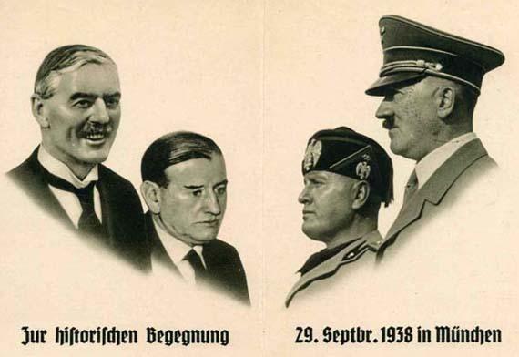 Это показывает, что СВОИМ для Европы был Гитлер, а не СССР