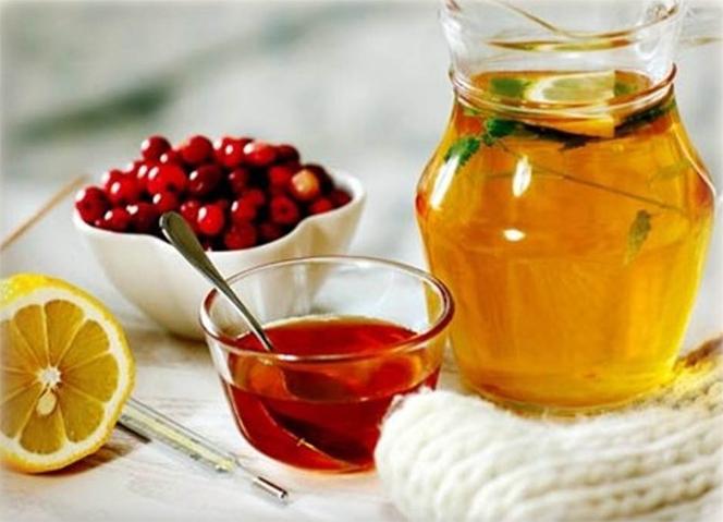 Народные средства от простуды и кашля