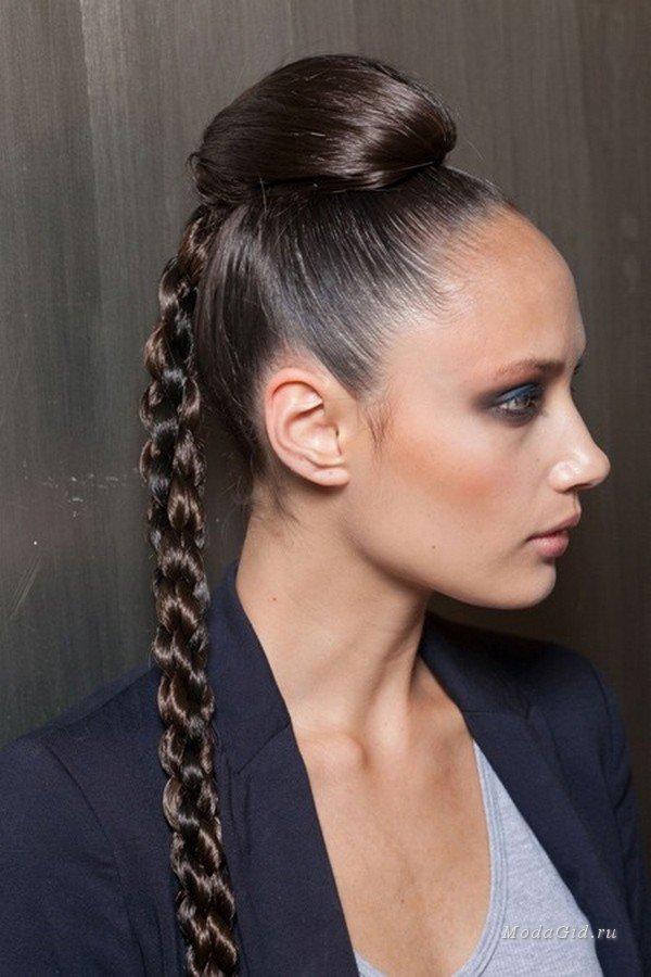 Прически для длинных волос на вечеринку