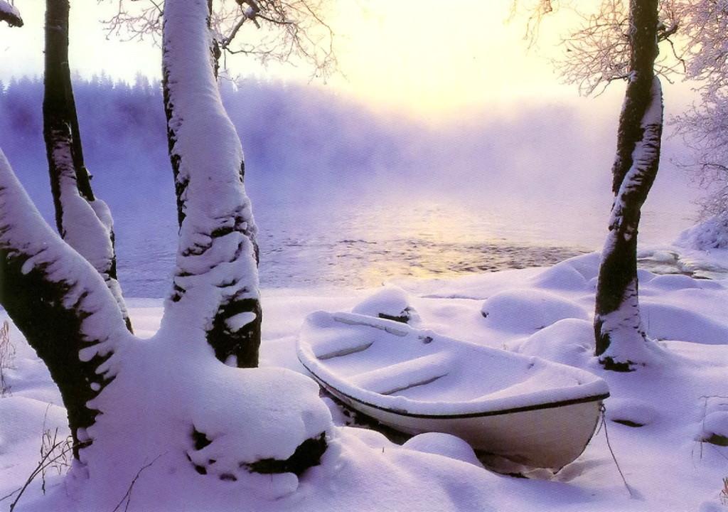 Очаровала нынче нас зима...