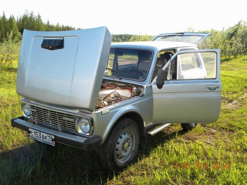 "ВАЗ 4x4 2121 ""Нива"" 1991 — отзыв владельца"