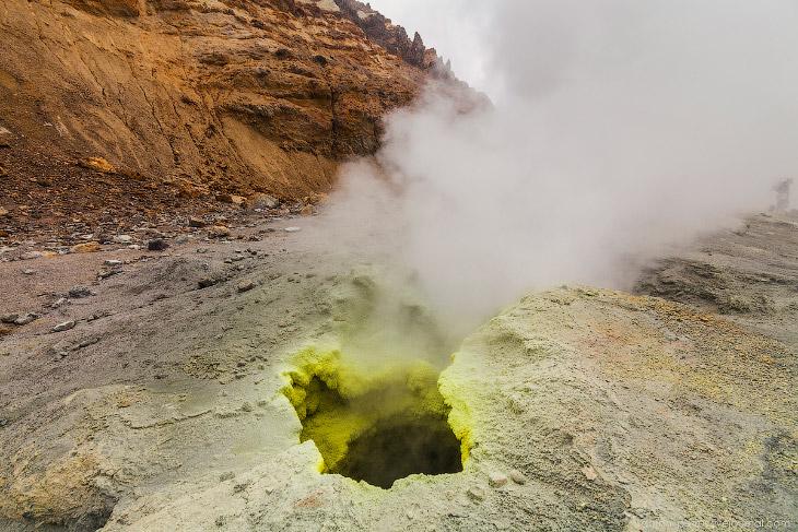 Преисподняя: Мутновский вулкан. Одно из самых удивительных мест на Камчатке