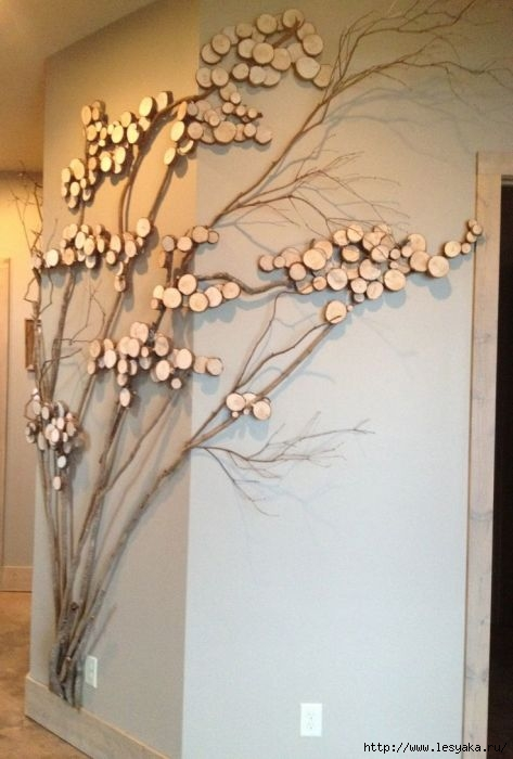 Как сделать дерева своими руками на стене