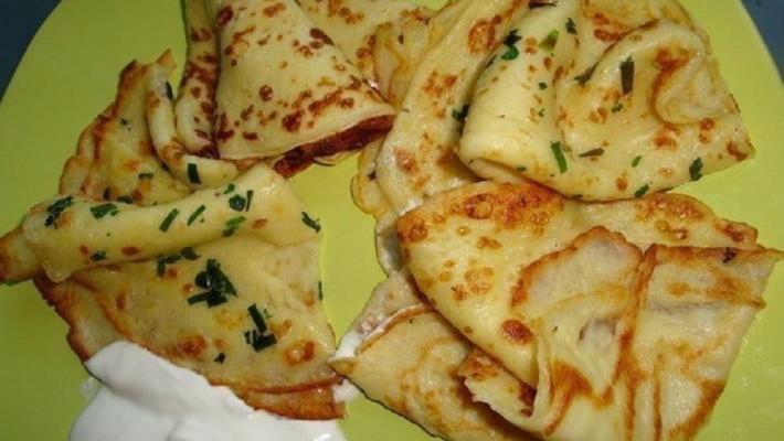 Рецепт приготовления тонких блинов из картофеля
