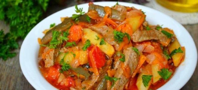 Рецепт азу с картофелем