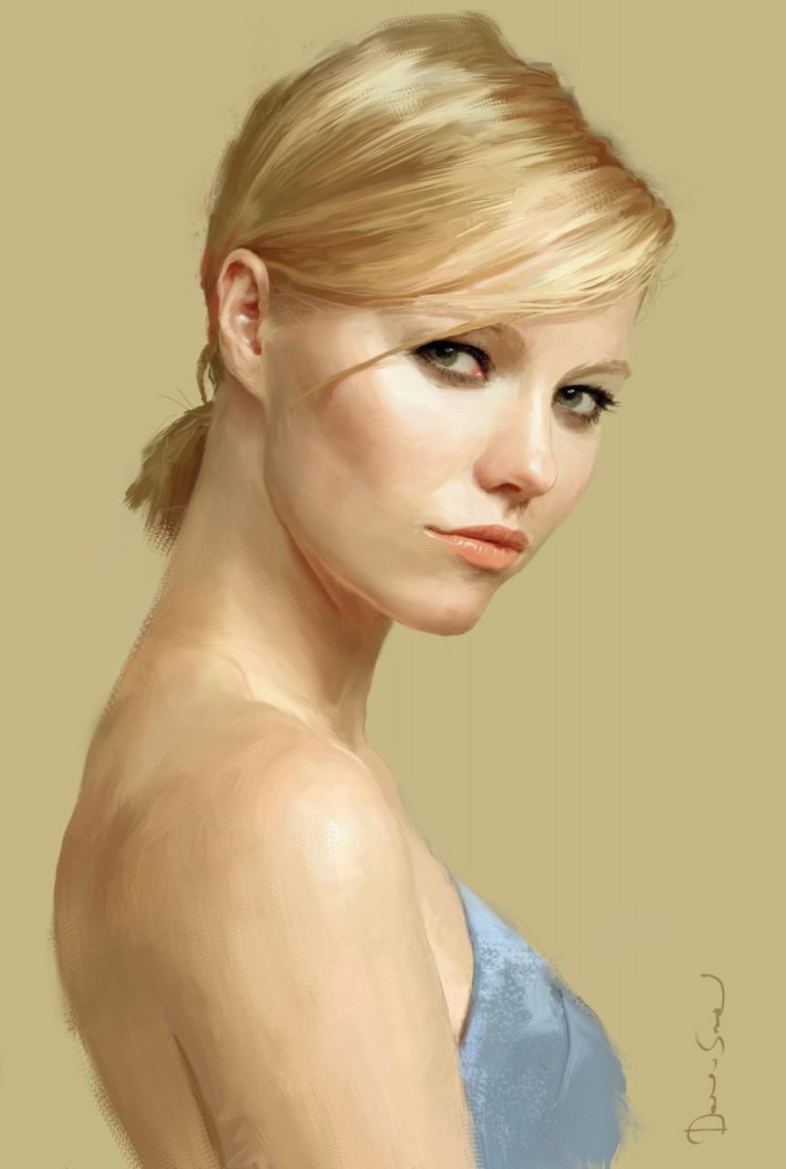 Коллекция  лучших арт портретов