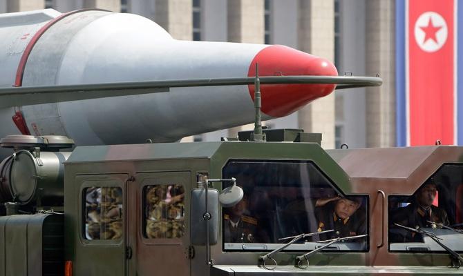 КНДР произвела неудачный запуск ракеты