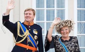 Беатрис и принц Оранский Виллем Александр