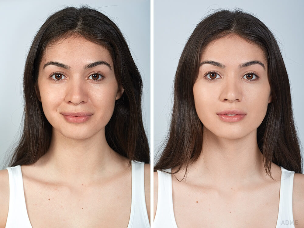 Девушка проверила на себе, видна ли разница между дорогой и дешевой косметикой