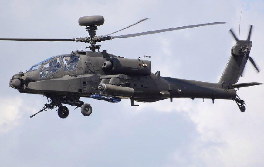 Инцидент в Форт Ирвин: американский Apache AH-64 разбился в пустыне Мохаве