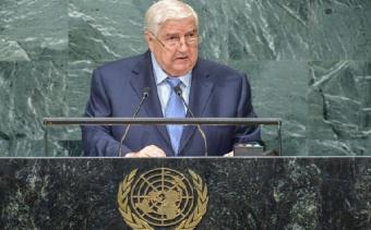 Глава МИД Сирии с трибуны ООН обвинил США в сговоре с ИГ