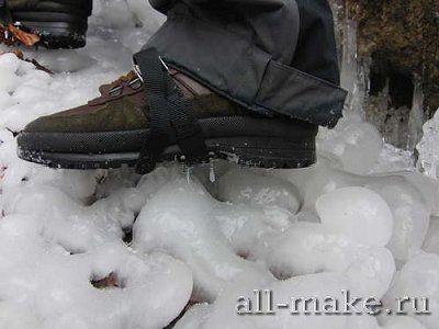 Шипы для обуви против скольжения
