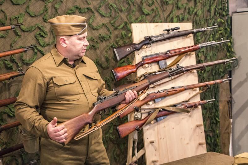 Рассказы об оружии. Винтовка Гаранда M1