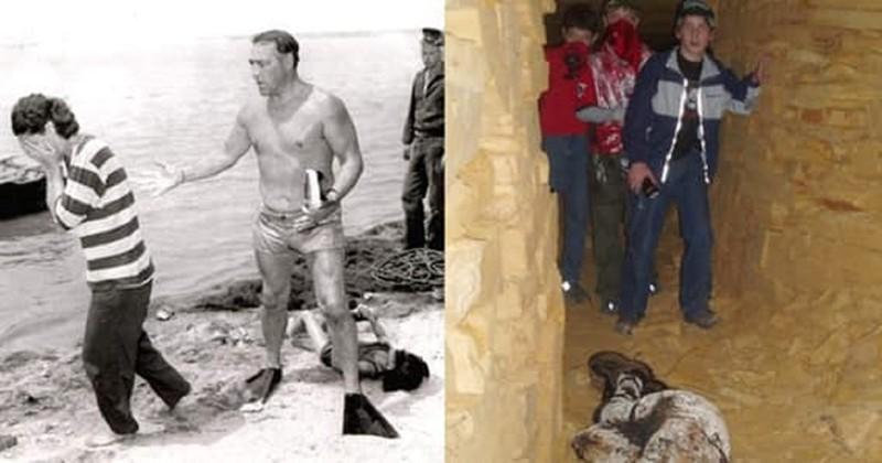 Страшные фотографии с жуткой историей (16 фото)