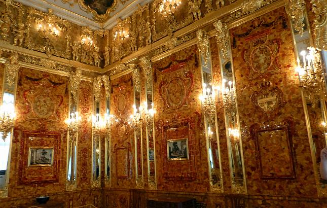 Немецкие исследователи нашли Янтарную комнату