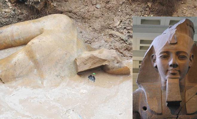 В трущобах Каира обнаружили статую Рамзеса Великого