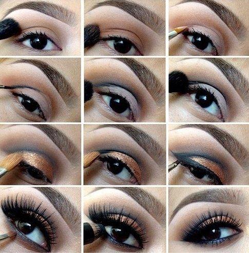 Бирюзовый макияж пошаговая инструкция