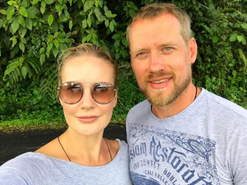 СМИ узнали, где ведущая«Ревизорро» отдыхает со своим мужем