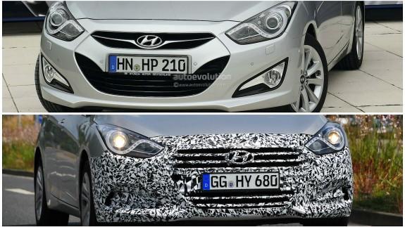 В Германии показался обновленный Hyundai i40