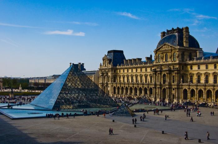 Лувр, Париж, Франция.