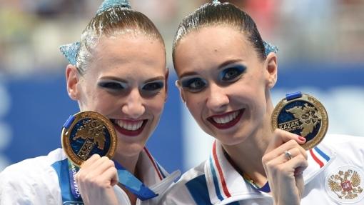 Завораживающее выступление российских синхронисток принесло золото сборной!