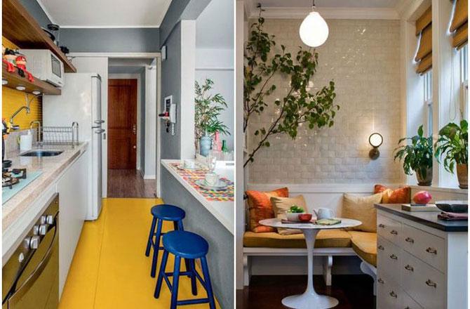 Столовая в небольшой кухне: 15 удачных примеров оформления