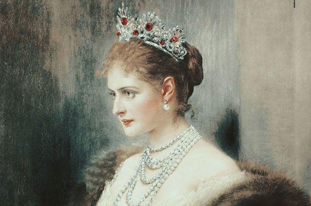 «Императрица Александра», художник Джозеф Арнада Коппей, ок. 1900 г.