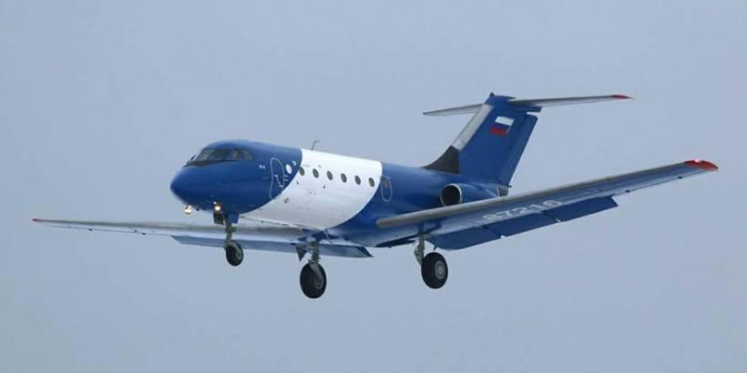 Як-40 с композитным крылом совершил первый полёт