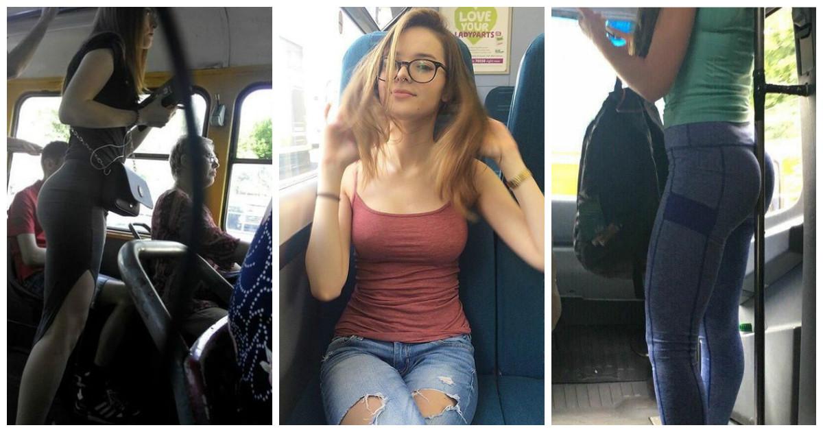 Три грудастых чирлидера, устроили оргию в автобусе  332578