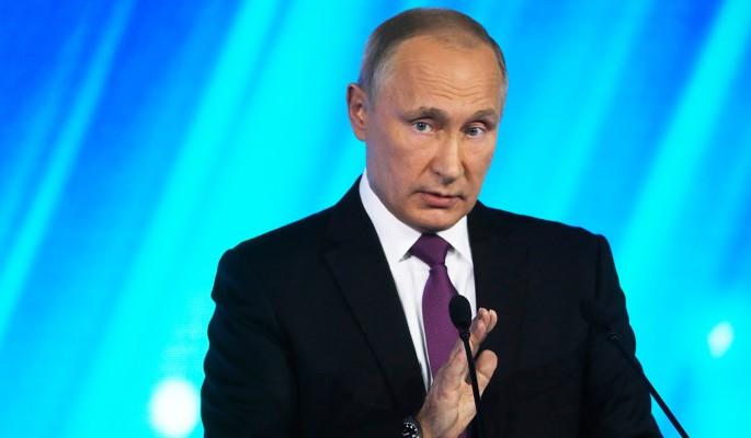 Путин ответил анекдотом на вопрос о выборах