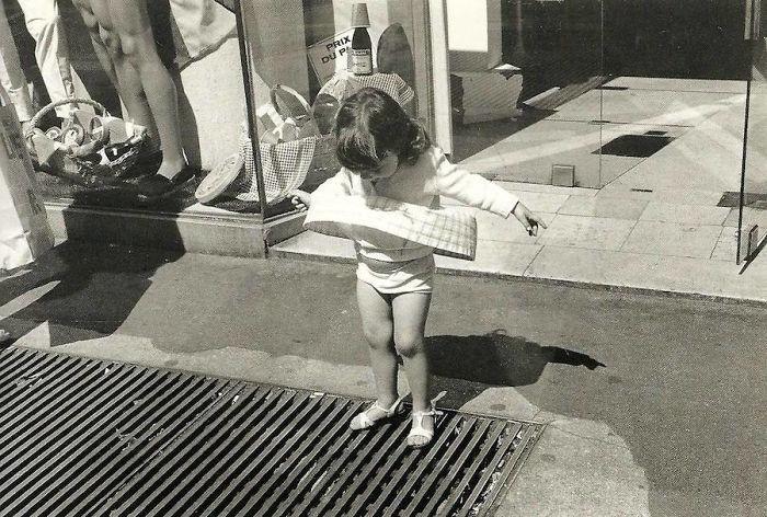 29. Маленькая Мэрилин, Париж, 1975 год  детство, прошлое, фотография
