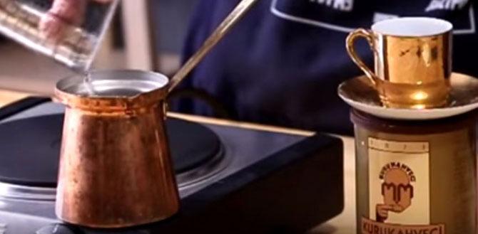 Кофе: по-турецки, по-арабски и по-сербски