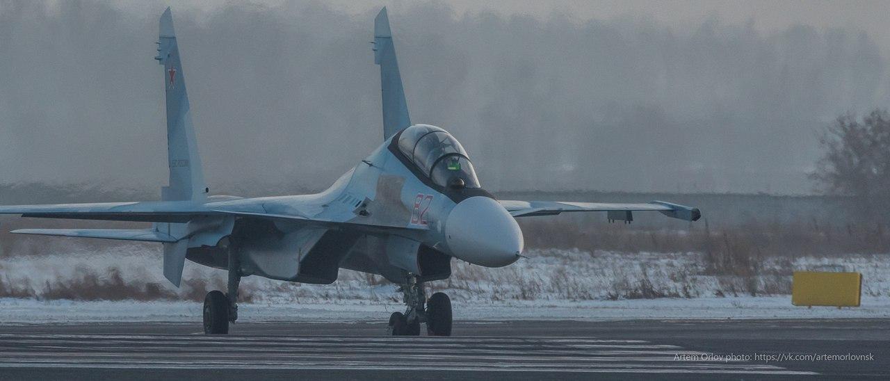Вооруженные Силы России получили сотый истребитель Су-30СМ