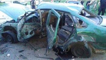 Автомобиль с сотрудниками СБУ взорвался под Константиновкой на Донбассе