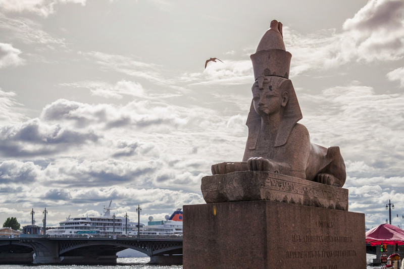 В поисках жертвы история, санкт-петербург, сфинксы