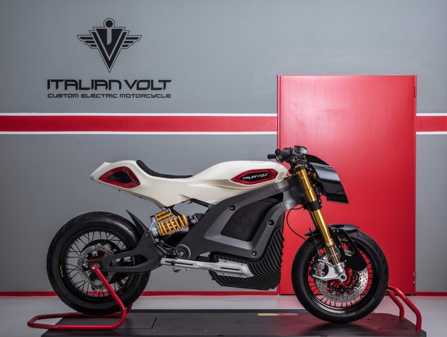 В Милане состоялась презентация электромотоцикла Italian Volt
