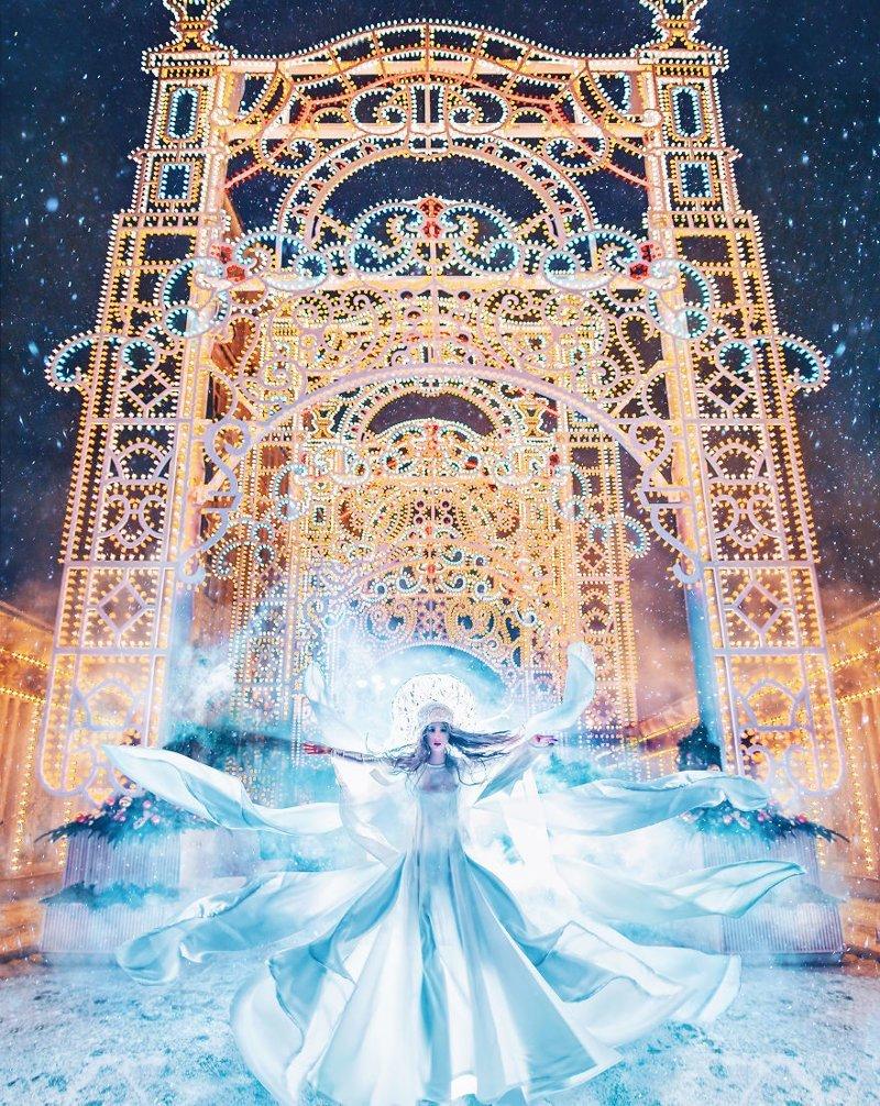 5. достопримечательность, зима, кристина макеева, москва, сказка, снег, фотография, фотомир